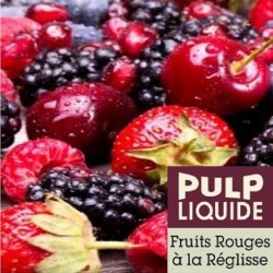 Fruits rouges à la réglisse de pulp
