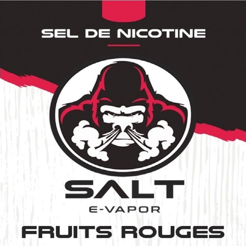 Fruits rouges sel de nicotine de French Liquide